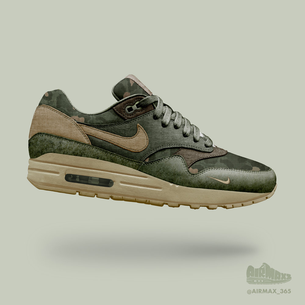Day 272: Air Max 1 Basic Training