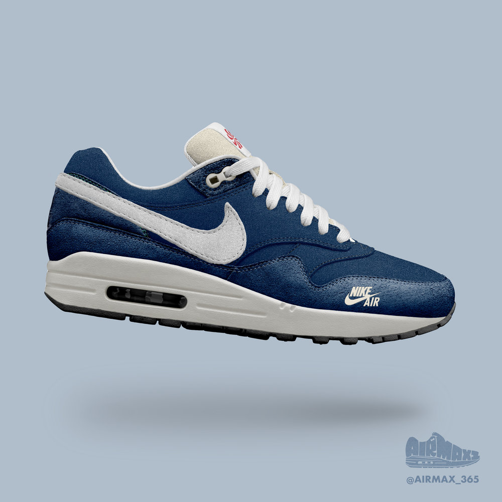 Day 269: Air Max 1 Navy Waffle Racer