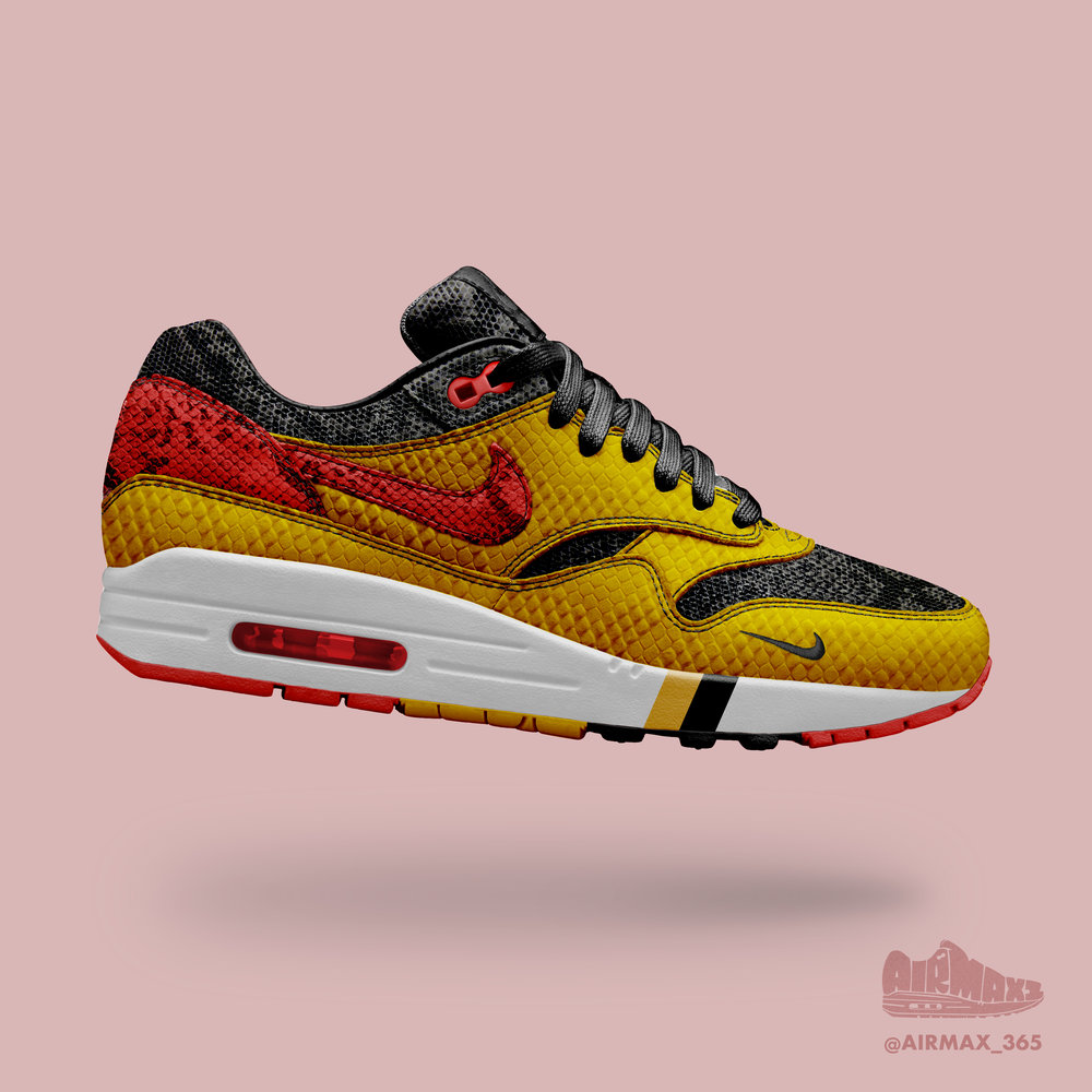 Day 263: Air Max 1 Golden Reptile