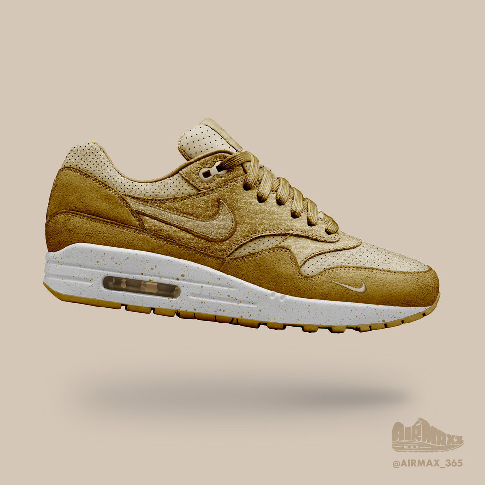 Day 261: Air Max 1 Hefeweizen