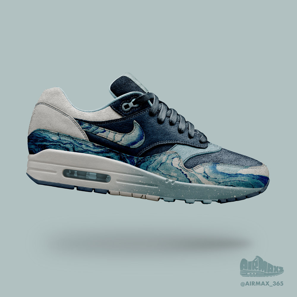 Day 260: Air Max 1 Ocean Floor