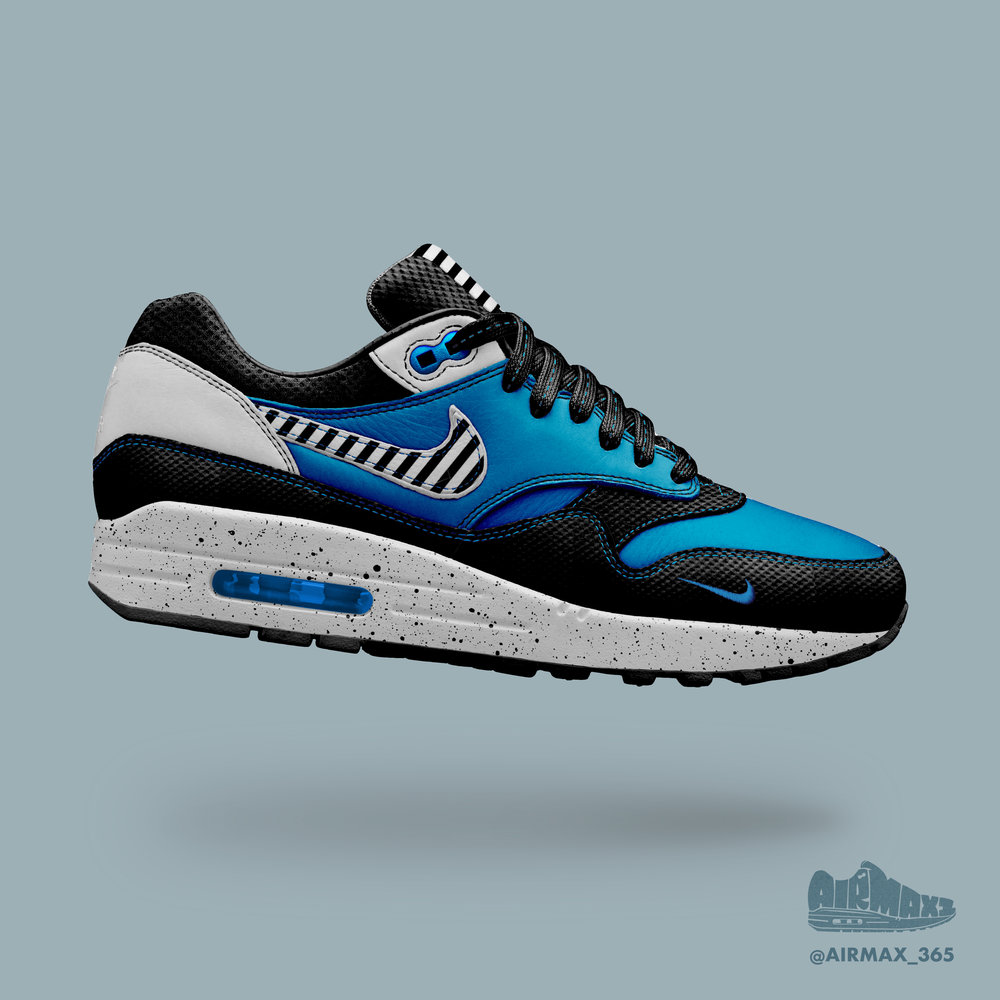 Day 258: Air Max 1 Azurite