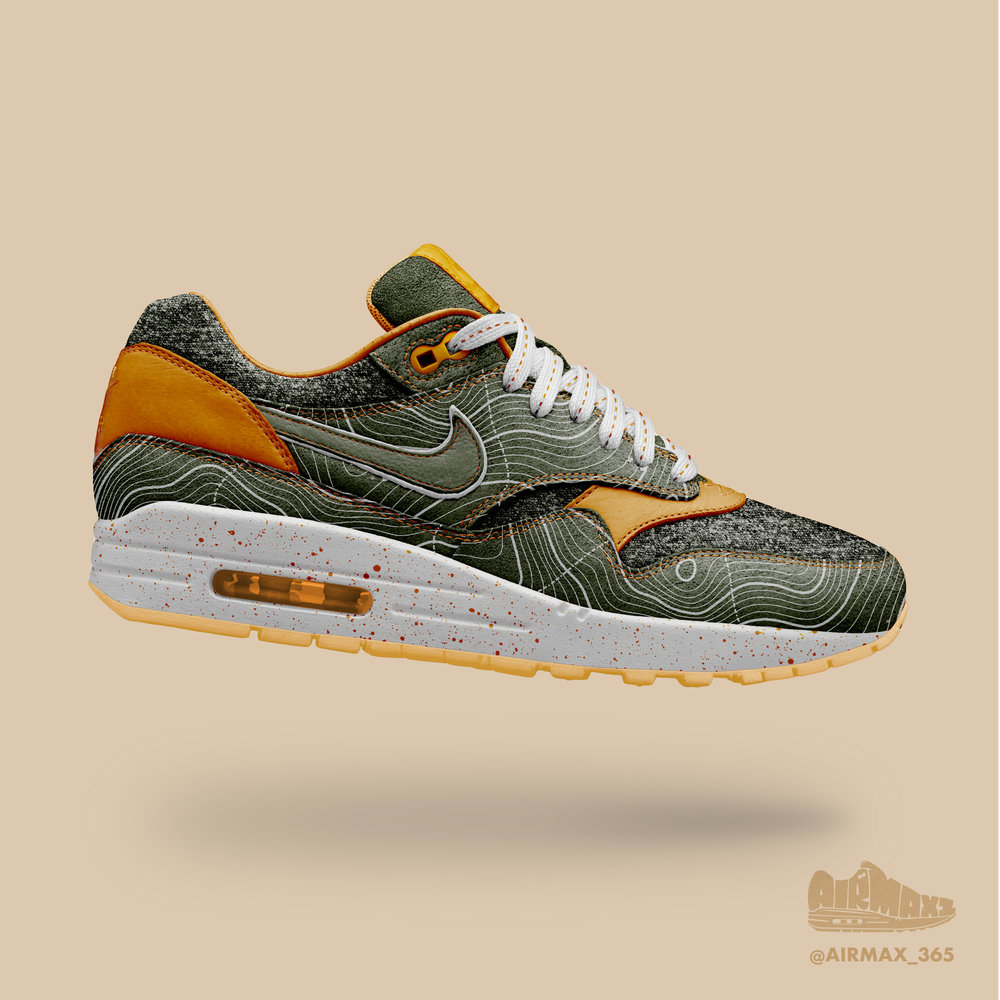 Day 254: Air Max 1 Topography
