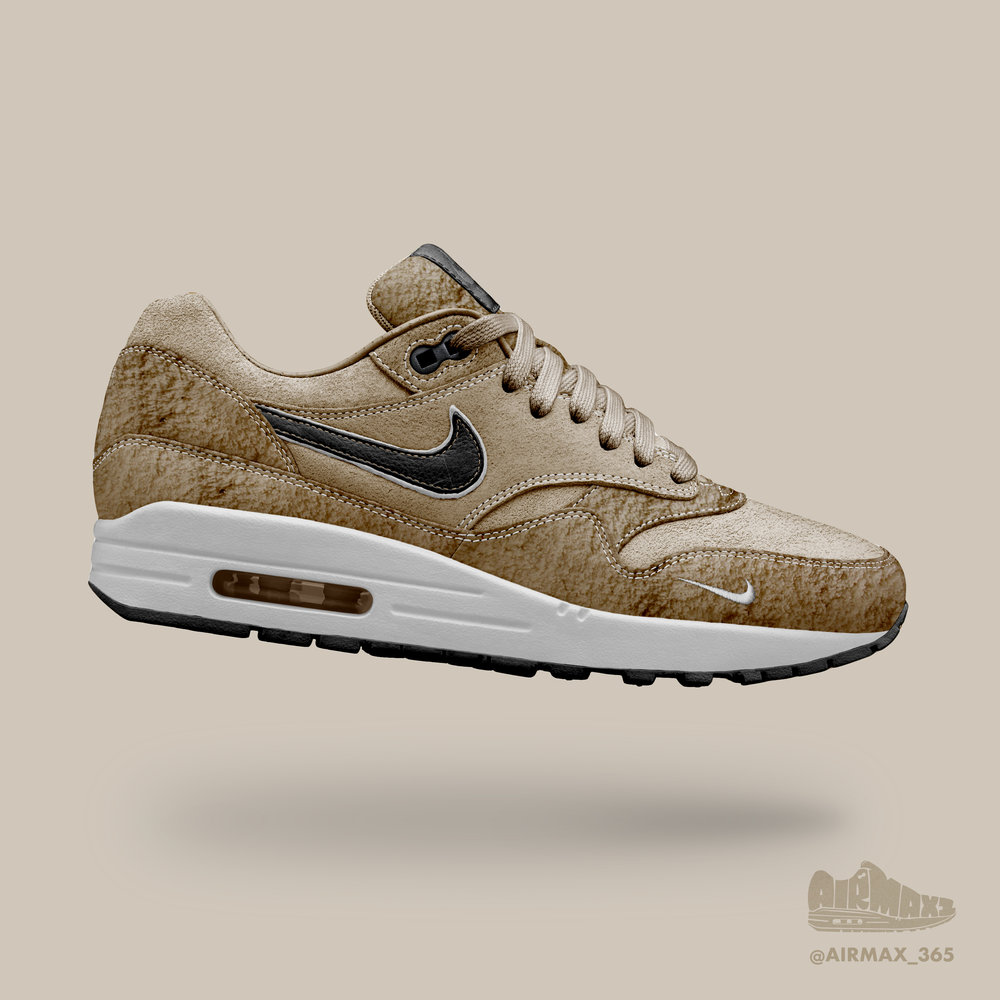 Day 253: Air Max 1 Teddy Bear