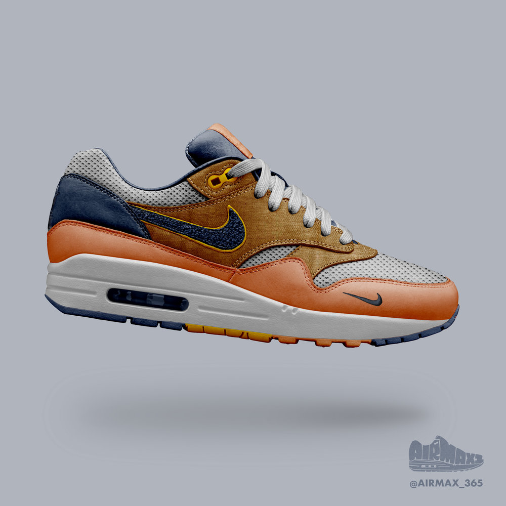 Day 248: Air Max 1 Mango Curry