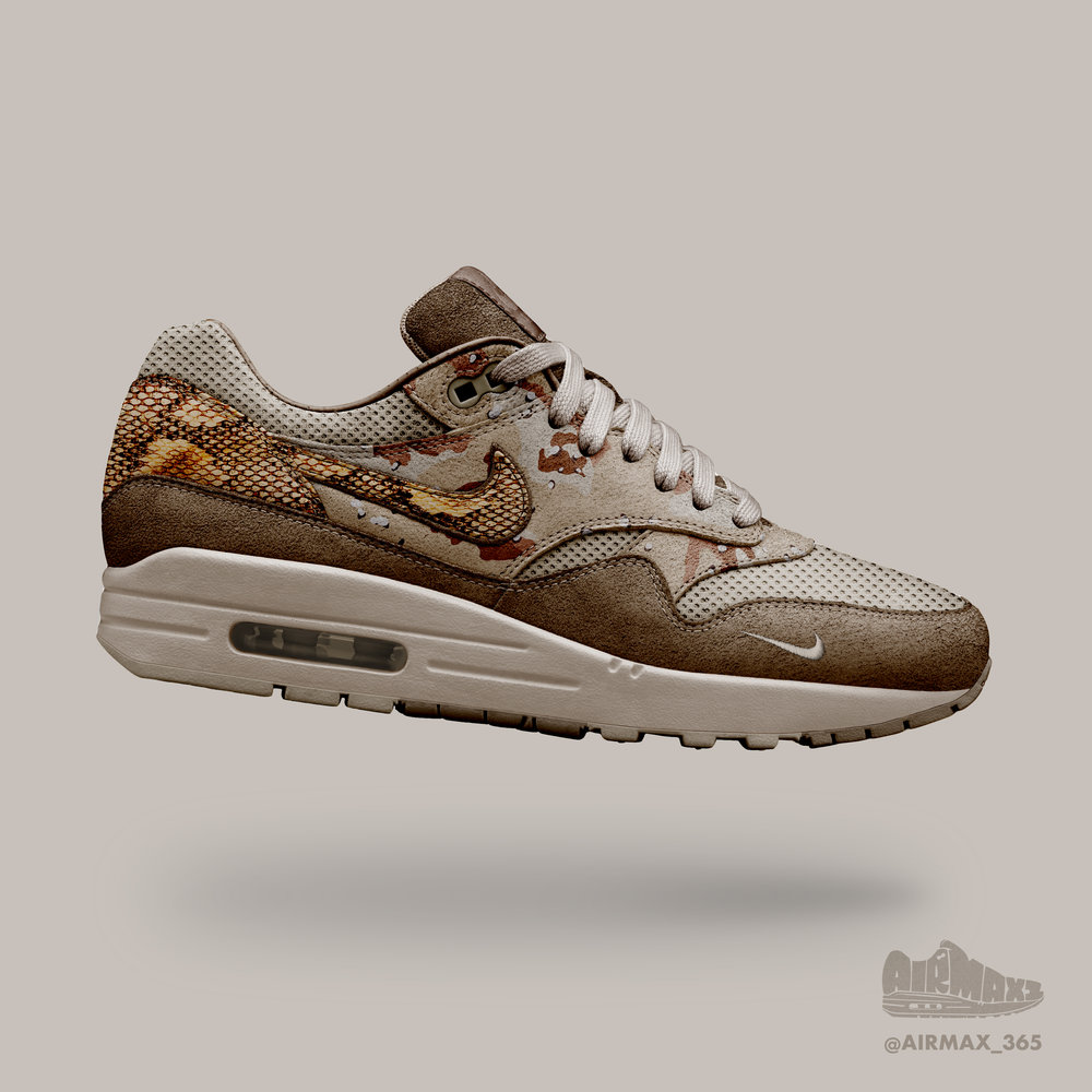 Day 246: Air Max 1 Snake Force