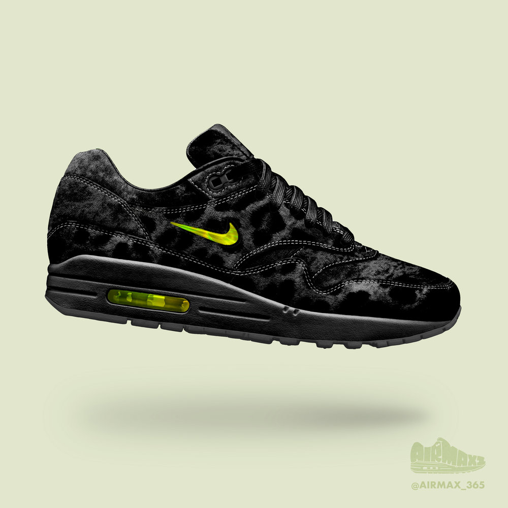 Day 243: Air Max 1 Jewel Black Cat