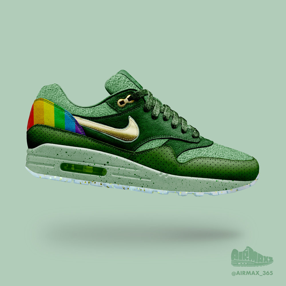 Day 241: Air Max 1 St. Patty