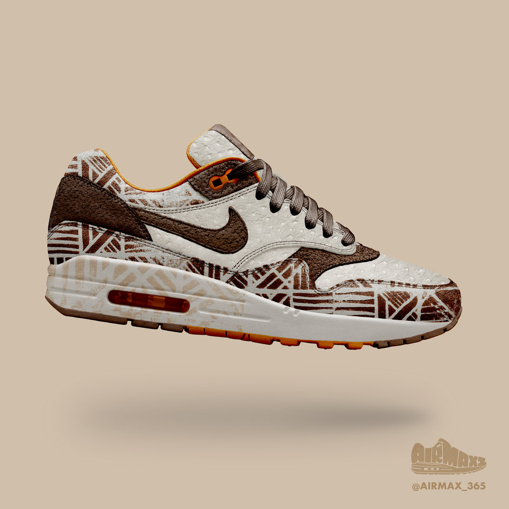 Day 233: Air Max 1 Flightless bird