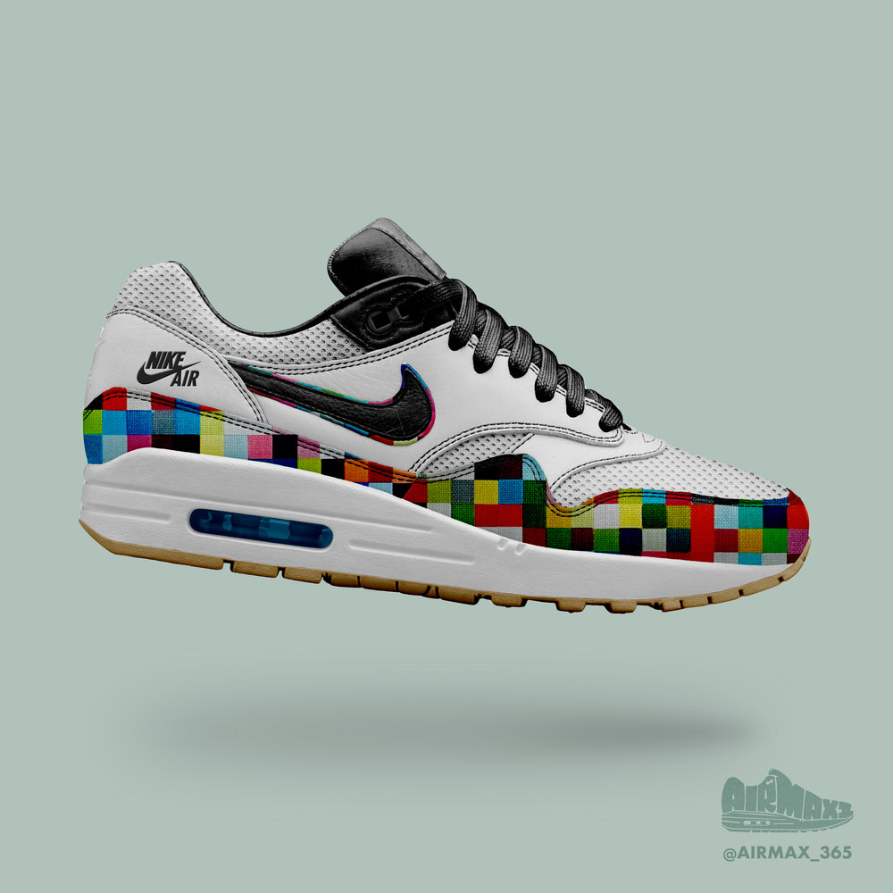 Day 232: Air Max 1 Technicolor