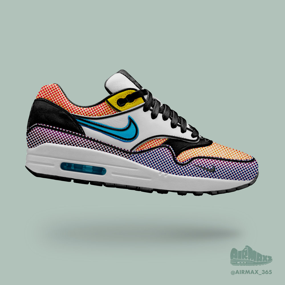 Day 231: Air Max 1 Comic Art