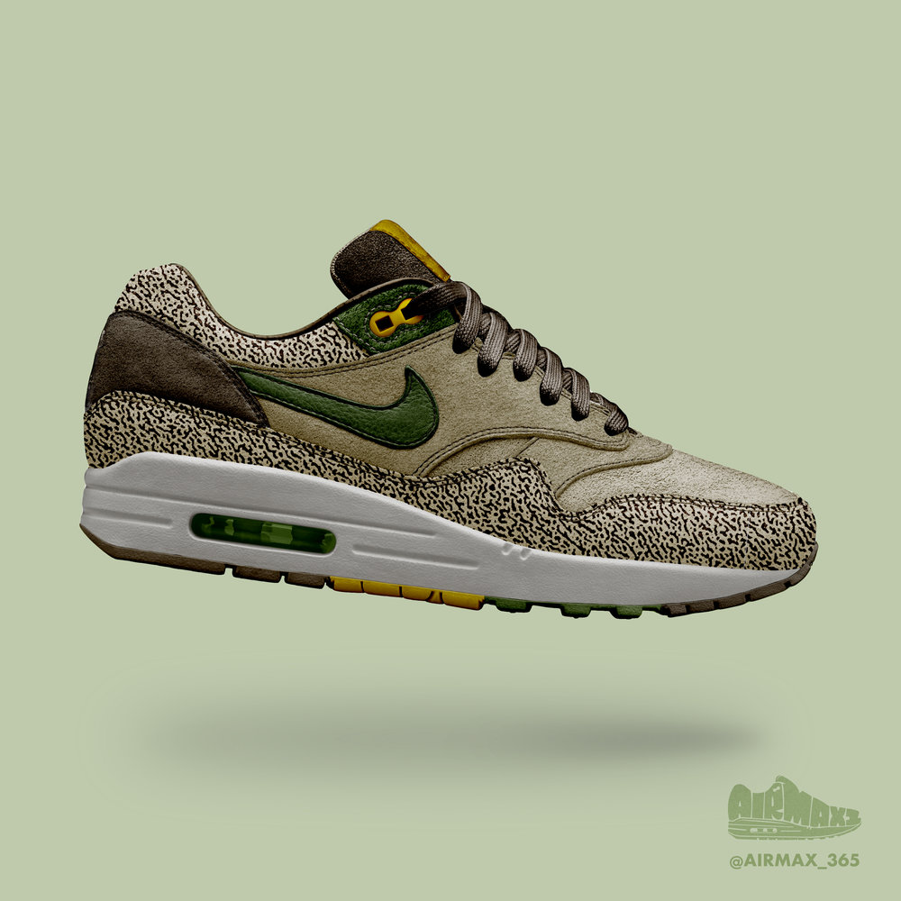 Day 226: Air Max 1 Canteen