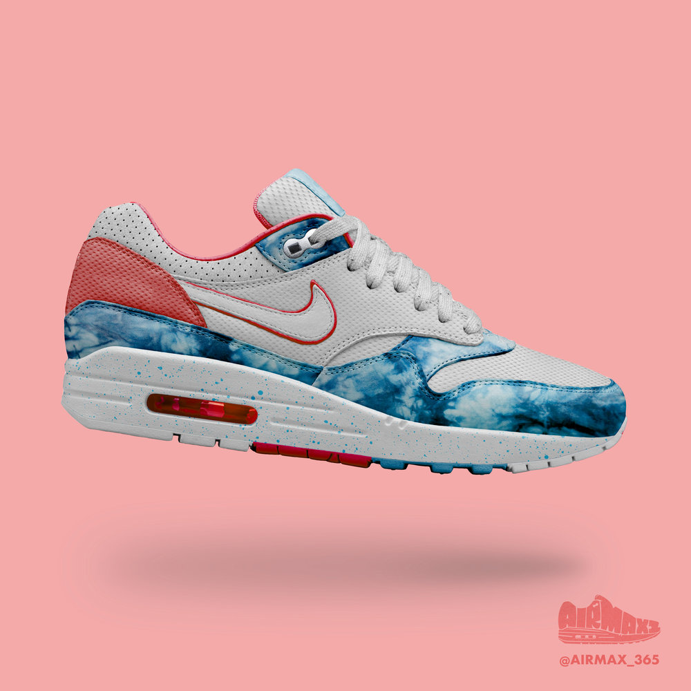 Day 225: Air Max 1 Swimming Pools
