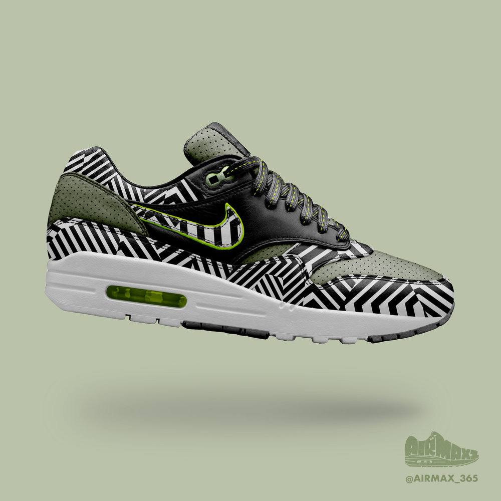 Day 224: Air Max 1 Dazzle Camo