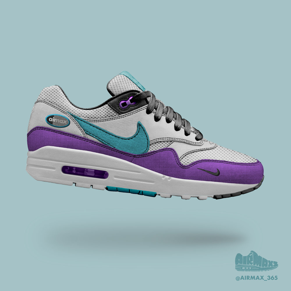 Day 223: Air Max 1 Grape Track Jacket