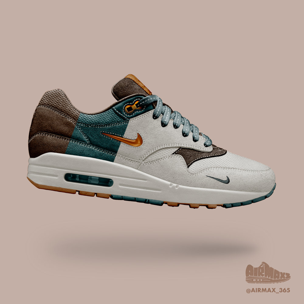 Day 221: Air Max 1 Copper Jewel