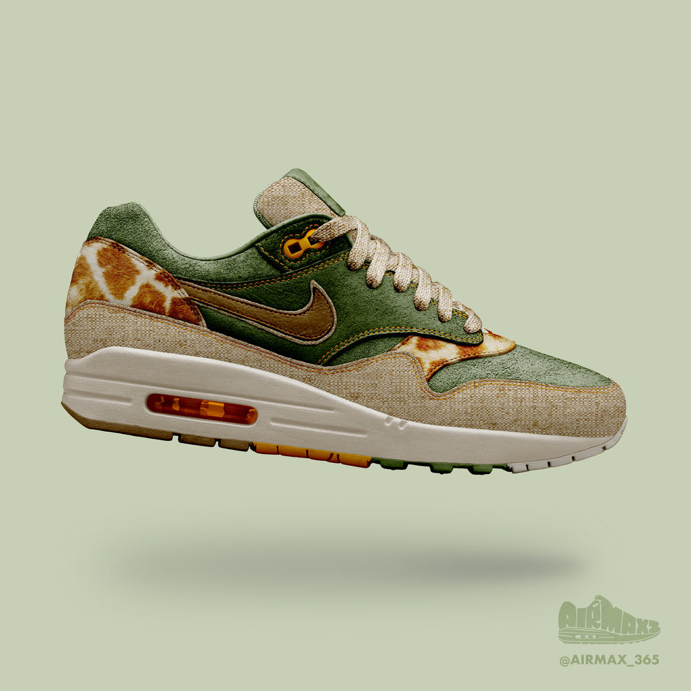 Day 219: Air Max 1 Hwange