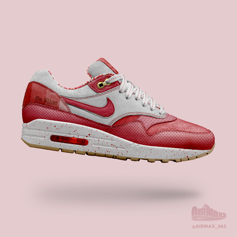 Day 210: Air Max 1 Be Mine