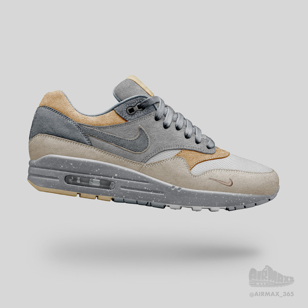 Day 202: Air Max 1 Diorite