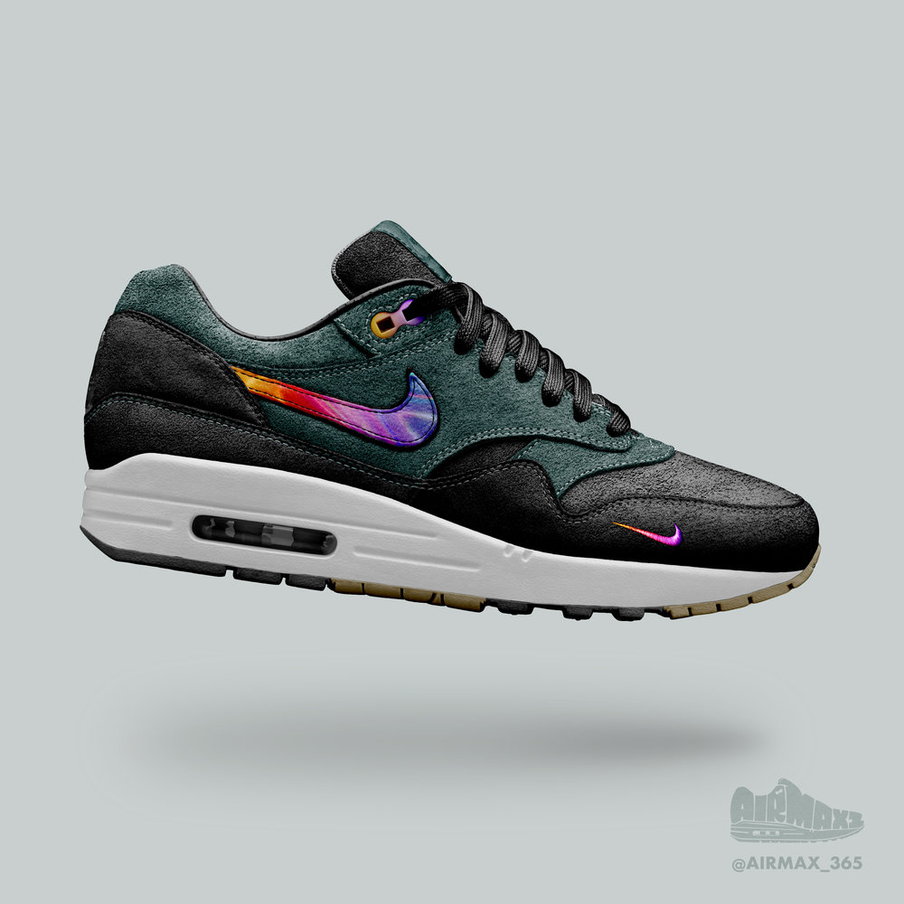 Day 200: Air Max 1 Evanesce