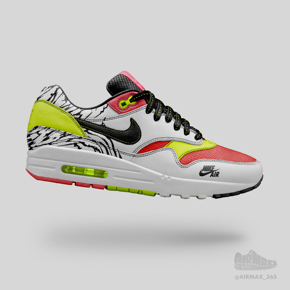 Day 199: Air Max 1 Ataxia