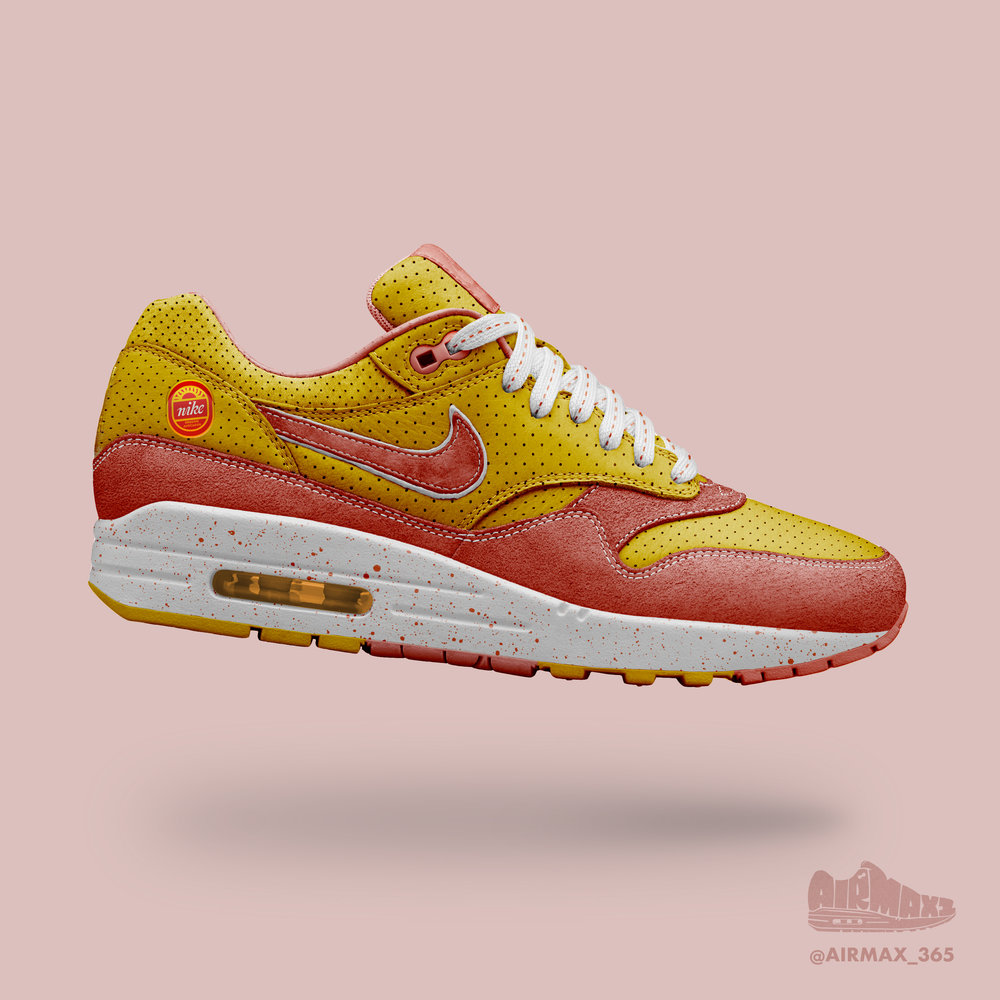 Day 184: Air Max 1 Grapefruit