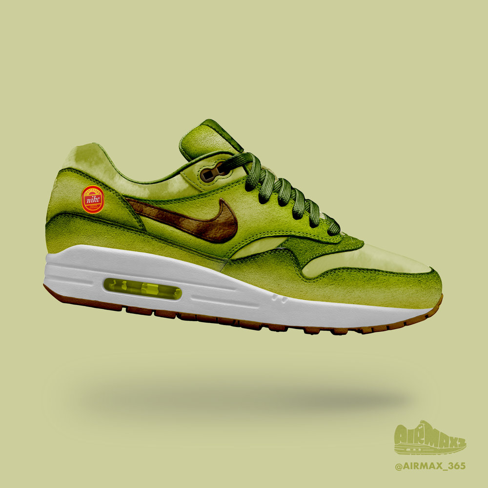 Day 177: Air Max 1 Avocado