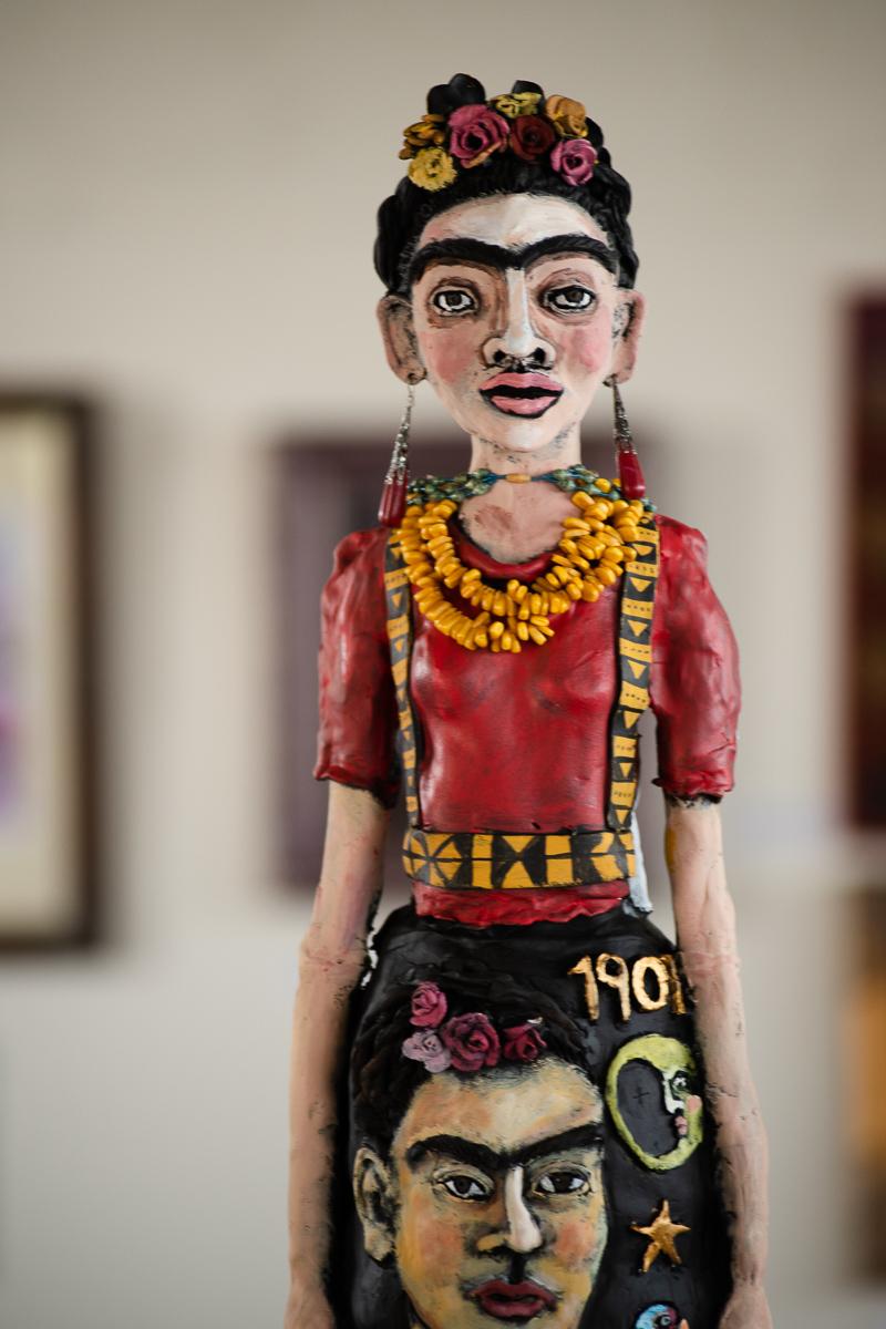 Frida Kahlo art event in Westwood Denver