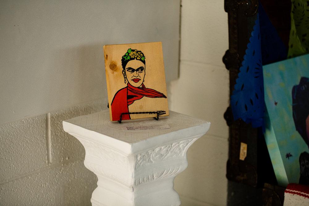 Frida art walk at Re:Vision