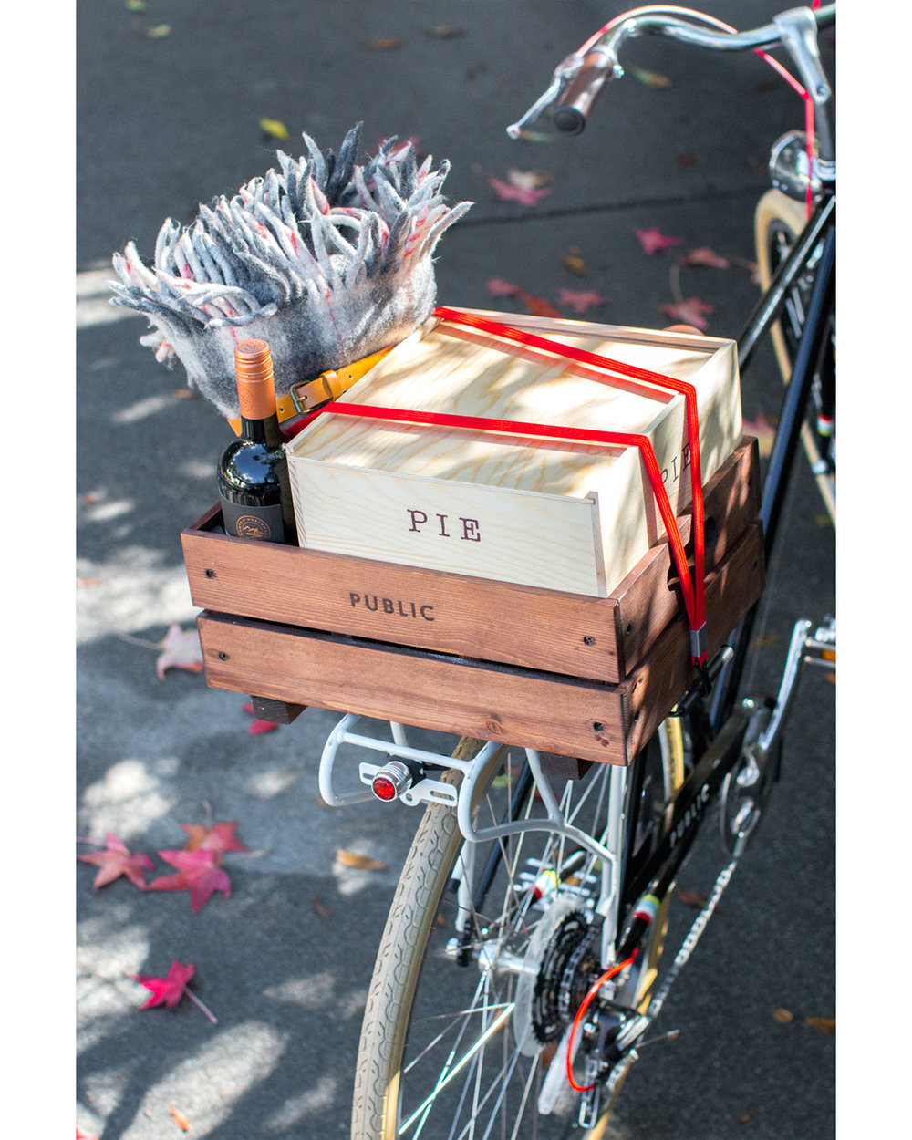 Styling & photography for  P  UBLIC Bikes  &  Baking The Goods.