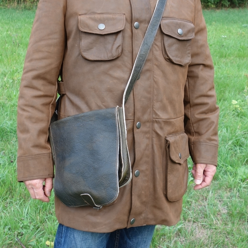 Tibor Leather Bag