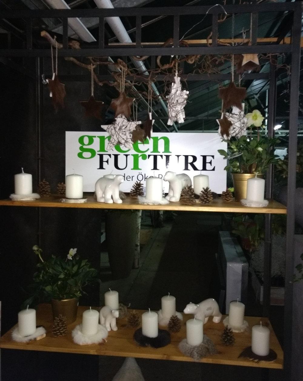 Kleine Accessoires für Kerzen, Adventskränze