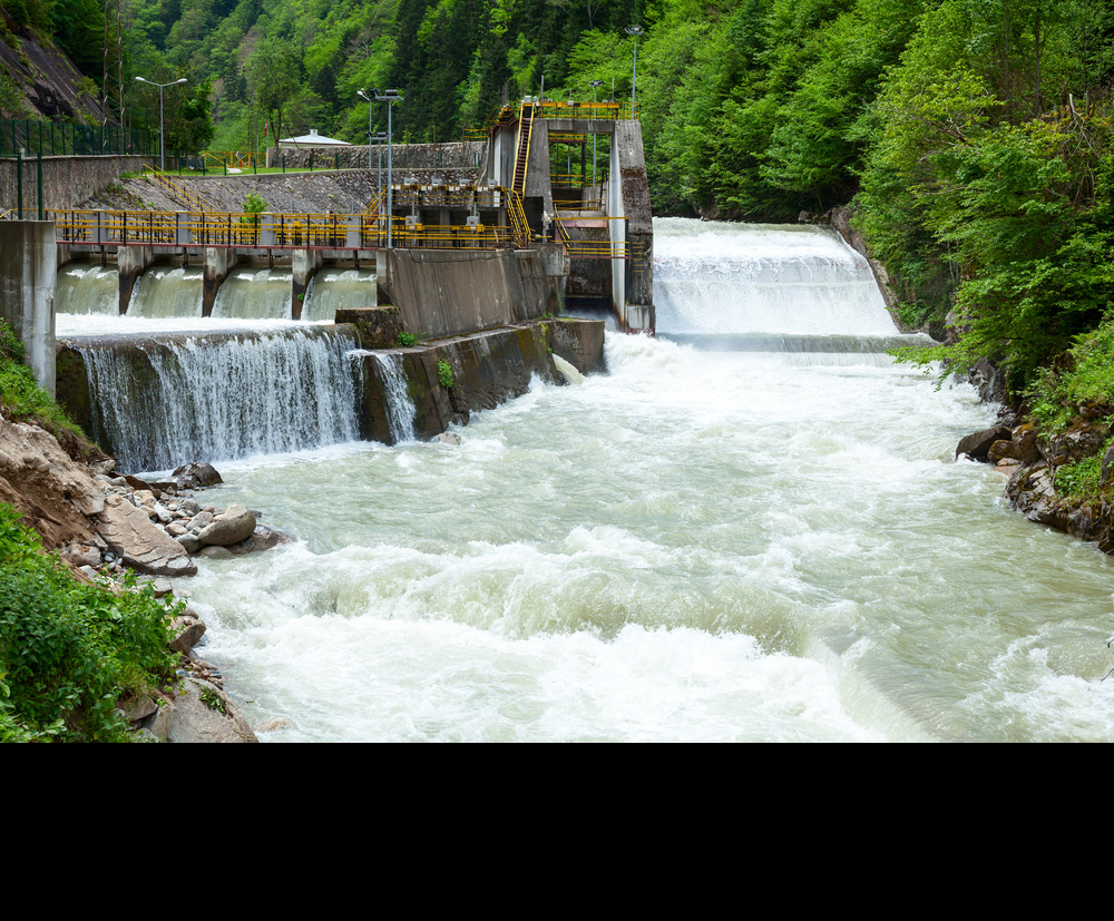 Run-of-the-river hydroelectric facilities