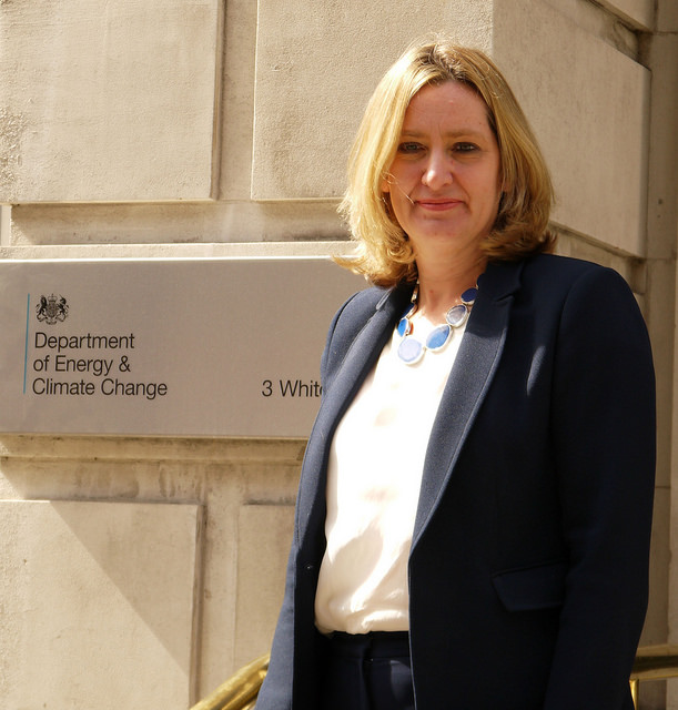 Amber Rudd MP. Credit: Department of Energy and Climate Change