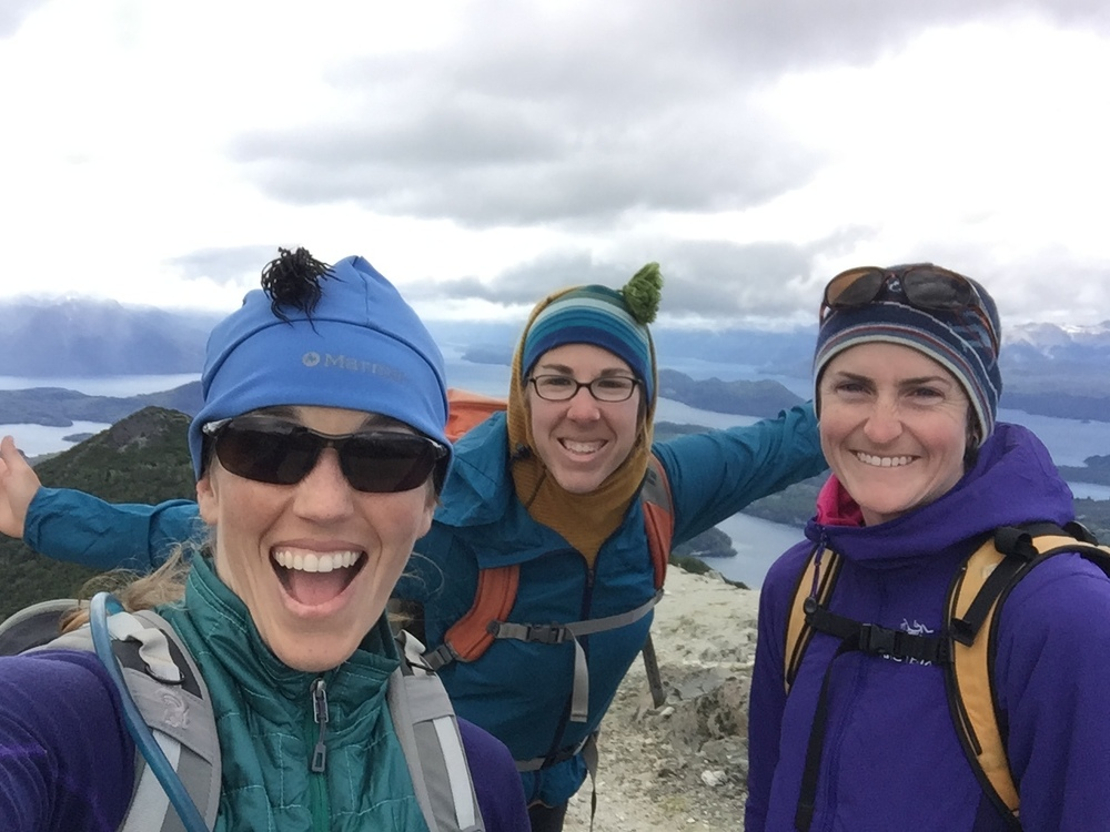 Joining friends to explore peaks around Bariloche