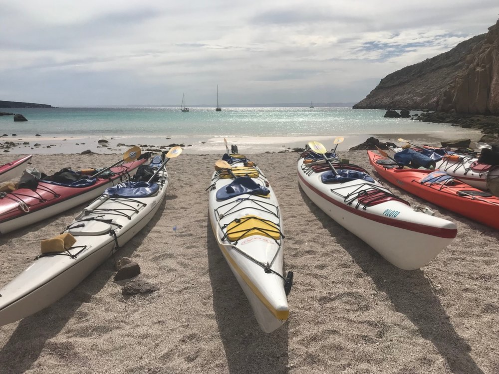 Baja, Mexico - March 30-April 7, 2019A seakayak expedition exploring the island of Espiritu Santo, off of the coast of La Paz. We will snorkel with sea lions, sleep under the stars, practice yoga and mindfulness with the rhythms of the waves. This women's adventure explores the connection between our deep inner-knowing, our intuition, and the life-giving source of the ocean.