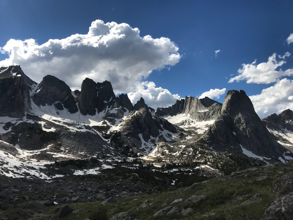 Cirque of the Towers, Wind River Range, WY