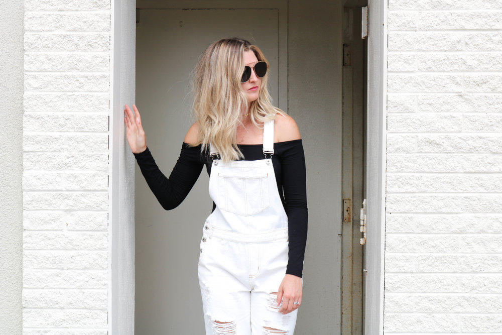 How to not look like a - farmer in OVERALLS