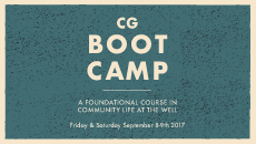 Join Us For CG Boot Camp - Sept. 8-9    August 22nd, 2017