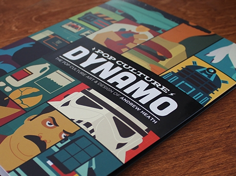 POP CULTURE DYNAMO ILLUSTRATION | BOOK + LOGO DESIGN  MORE INFO