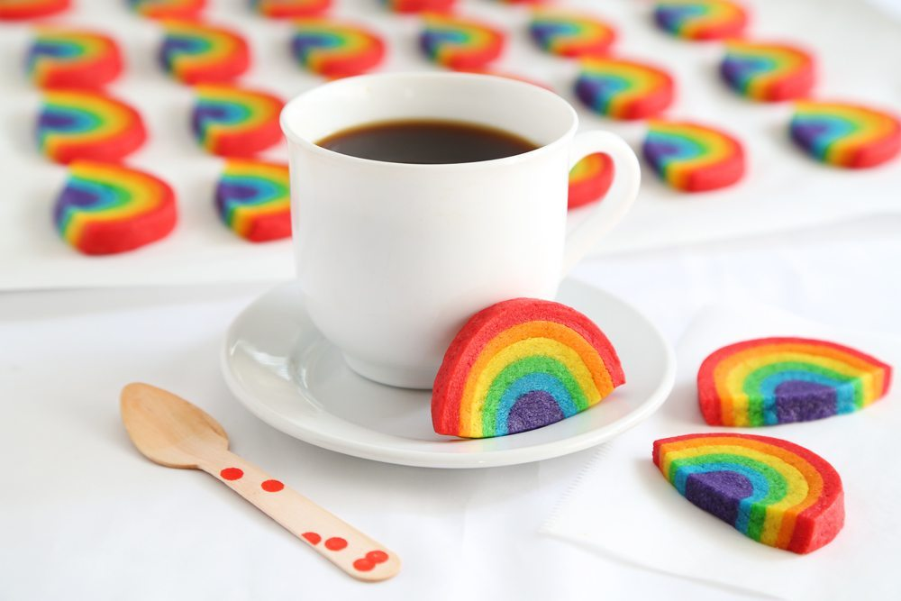 Show Your Pride With DIY Rainbow Cookies