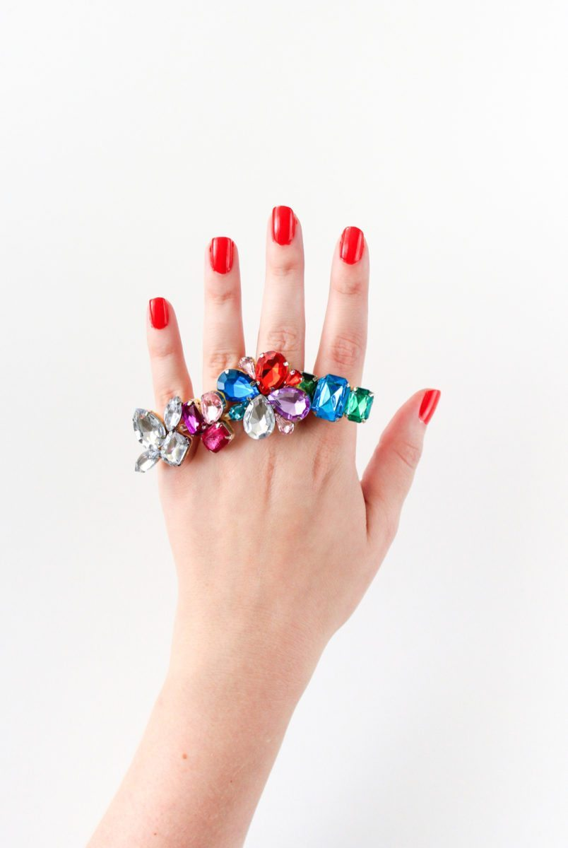 Make a DIY Cocktail Ring