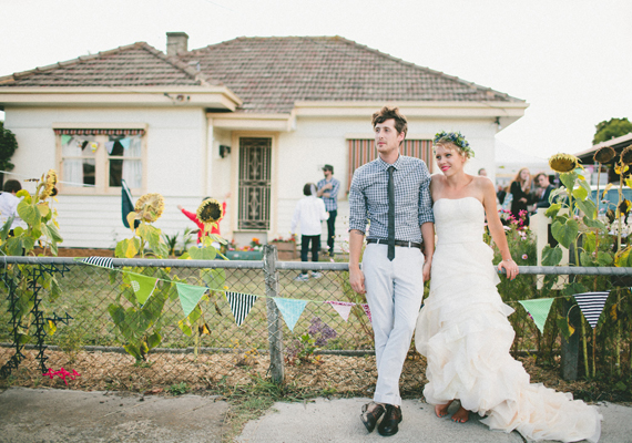 Handmade Weddings: Close to Home