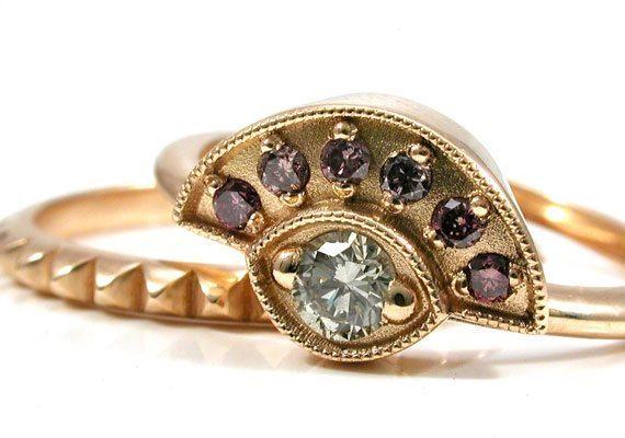 34 Surprising Engagement Rings Under $1000