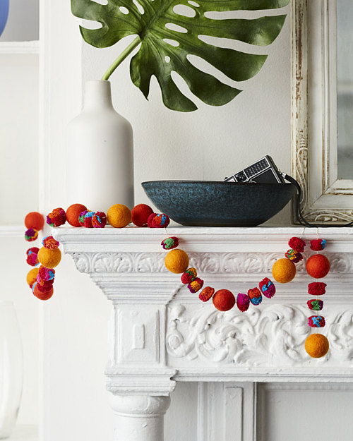 Make This: Bright, Boho Garland