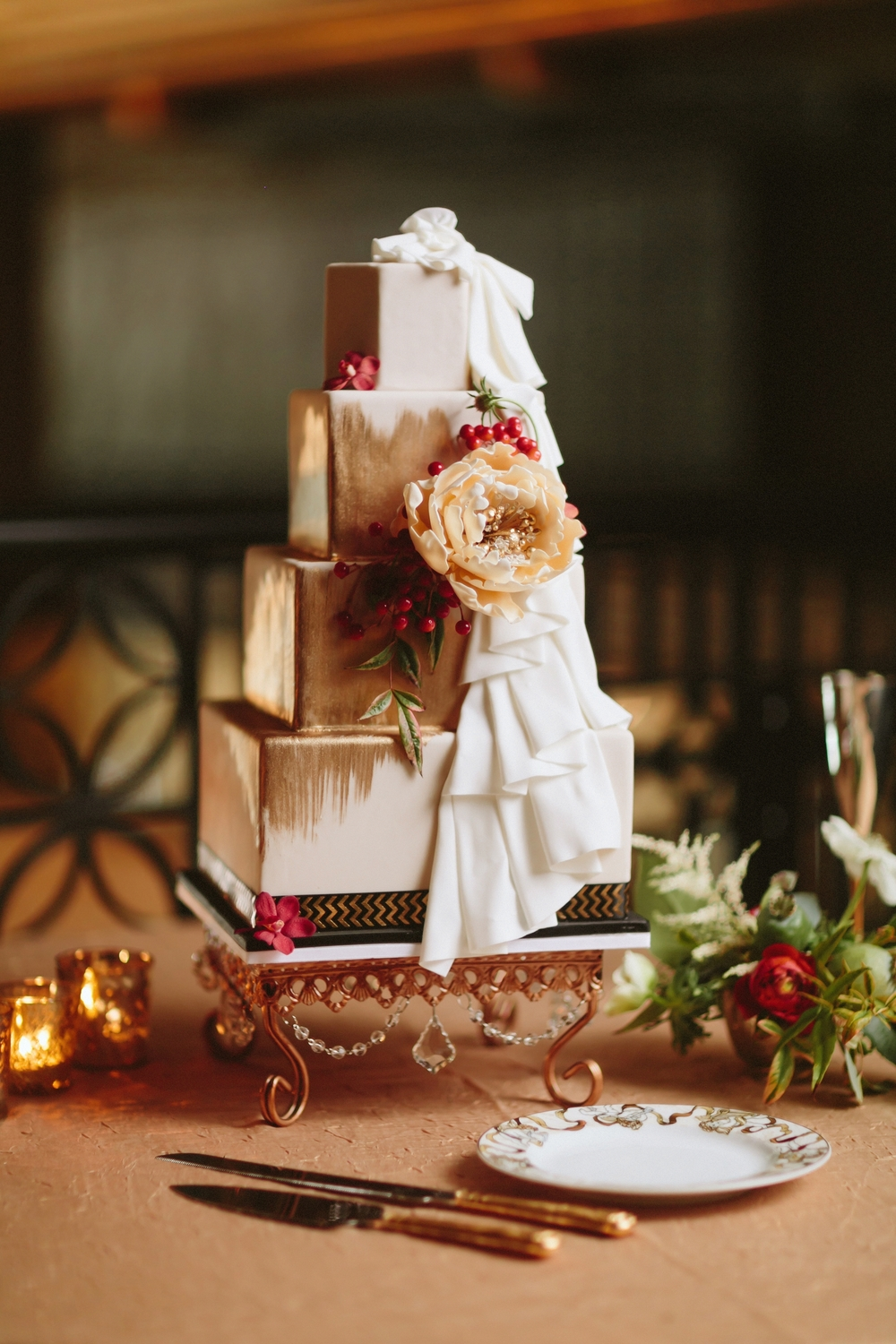 Asheville Art Deco Wedding Cake.jpg