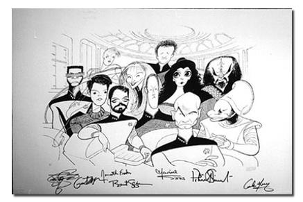 Star Trek Art | TOS, TNG, DS9, Voyager, Enterprise — Lightspeed Fine Art