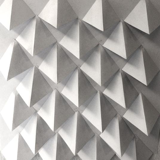 Asymmetric overlay (paper sketch)