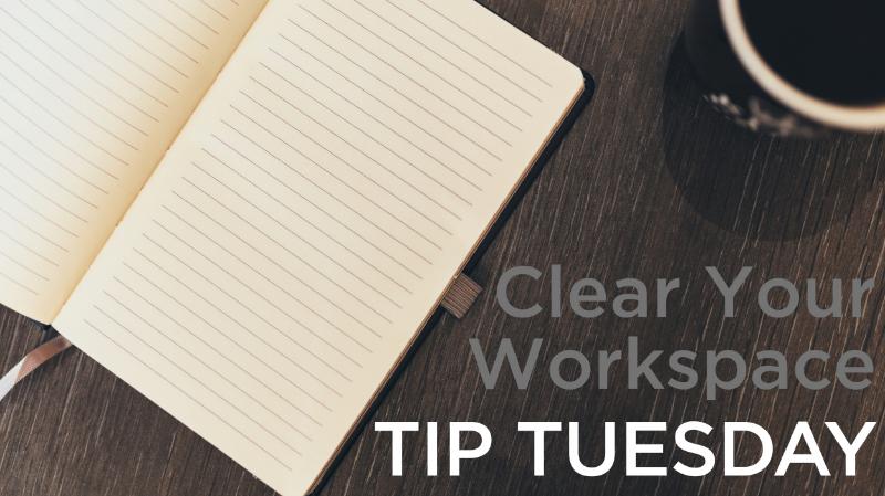 Keep An Efficient Workspace