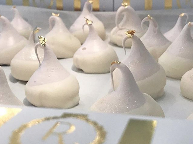 "Renée's ""Wedding Cake"" French Meringues are a popular menu item or gift for any occasion. Renée's French Meringues can be catered, shipped or pre-ordered for pick-up."